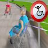 3D tekerlekli sandalye yarış oyunu