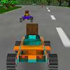 8 bit 3D yarış oyunu