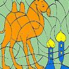 Yalnız deve çöl boyama oyunu