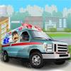 Ambulans kamyon şoförü oyunu