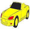 İnanılmaz hızlı bir araba boyama oyunu