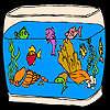 Şaşırtıcı akvaryum Balıklar Boyama oyunu
