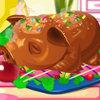 Apple Piglet pişirme gösterisi oyunu