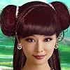Asya moda Model makyaj oyunu