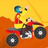 ATV eğlenceli yolculuk oyunu