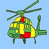 Havacılık helikopter boyama oyunu