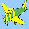 Temel uçak boyama oyunu