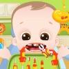 Bebek diş sorunları oyunu