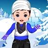 Bebek Srna kışlık Giydir oyunu