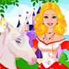 Barbie Unicorn bakım oyunu