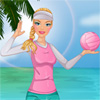 Barbie plaj voleybolu oyunu