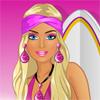Barbie sörf gider oyunu