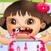 Bebek Lora Tooth sorunları oyunu
