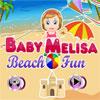 Bebek Melisa Beach Eğlence oyunu