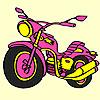 Büyük hızlı motosiklet boyama oyunu