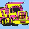 Büyük çöp kamyonu boyama oyunu