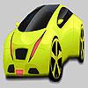 Büyük fıstık yeşil araba boyama oyunu