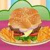Büyük hamburger yemek oyunu