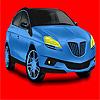 Büyük kavramı mavi araba boyama oyunu