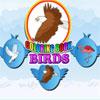 Boyama kitabı kuşlar oyunu