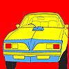 Büyük Batı tekerlekli araba boyama oyunu