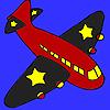 Siyah kanatlar uçak boyama oyunu