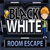 Siyah beyaz oda kaçış oyunu