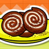 Brownie fıstık dondurma rulo oyunu