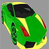 Parlak renkli araba boyama oyunu