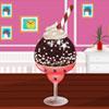 Çikolatalı dondurma dekorasyon oyunu