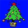 Christhmas ağaç boyama oyunu