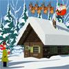 Noel kar kaçış Abode oyunu