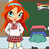 Chibi Bloom liseli kız oyunu