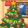 Noel ağacı malzeme çekme oyunu