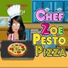 Şef Zoe - Pesto Pizza oyunu