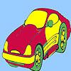 Konsept tarzı araba boyama oyunu