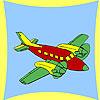 Kıyı uçak boyama oyunu