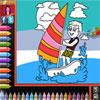 Boyama kitabı - Beach oyunu