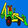 Renkli Köyü traktör boyama oyunu