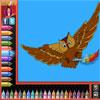Boyama sayfaları - kuşlar oyunu