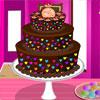 Renkli çikolatalı kek oyunu