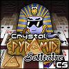 Crystal piramit Solitaire oyunu