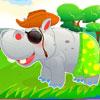 Sevimli hippo bakım oyunu