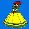 Sevimli küçük Prenses Boyama oyunu