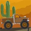 Çöl kamyon yarışı oyunu