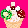 Dondurma süslemeleri oyunu