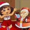 Dora ile Santa's Dressup oyunu