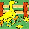 Sevgili çiftliği boyama oyunu