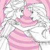 Elsa ve boyama donmuş Anna oyunu