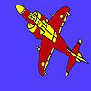Donanımlı uçak boyama oyunu